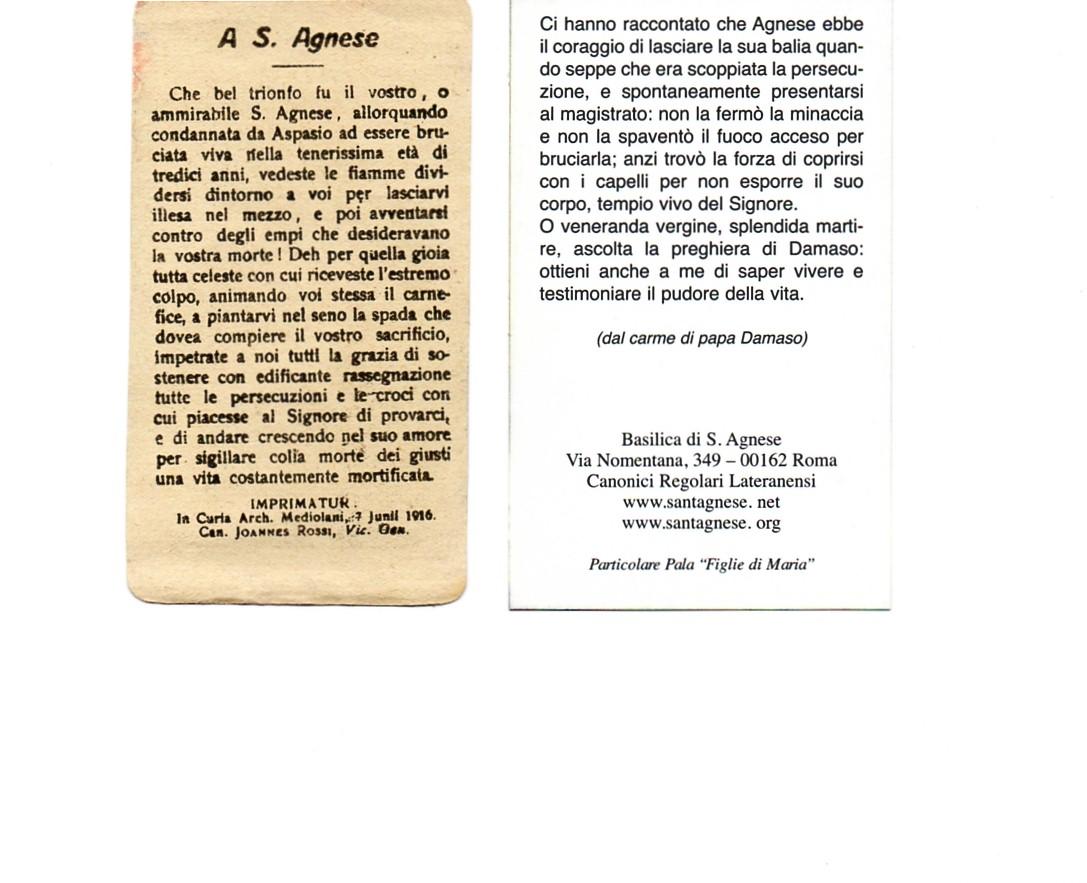 "Parrocchia ""S. Agnese"" - Matera (Santini d'autore) Ant"